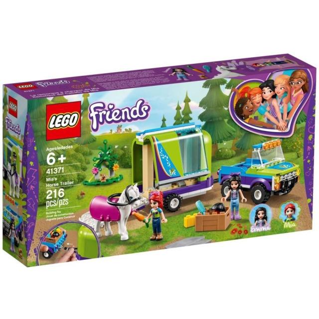 Obrázek produktu LEGO Friends 41371 Mia a přívěs pro koně