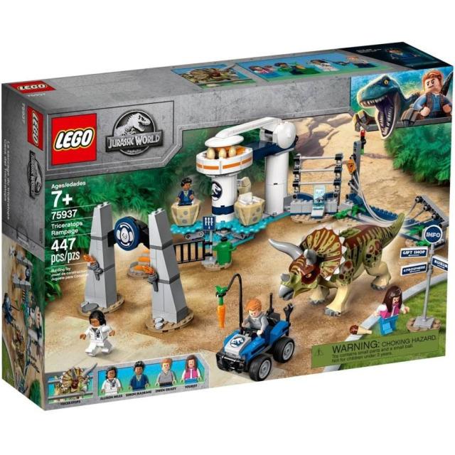 Obrázek produktu LEGO Jurassic World 75937 Triceratopsovo běsnění