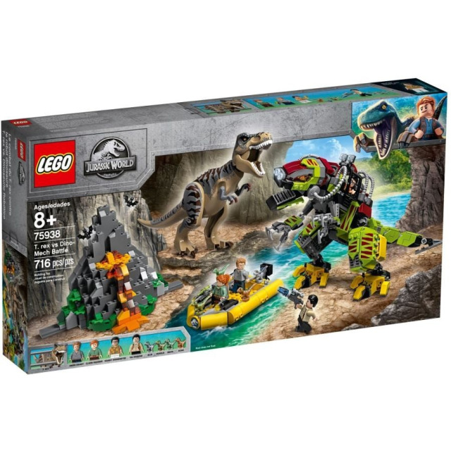 Obrázek produktu LEGO Jurassic World 75938 T. rex vs. Dinorobot