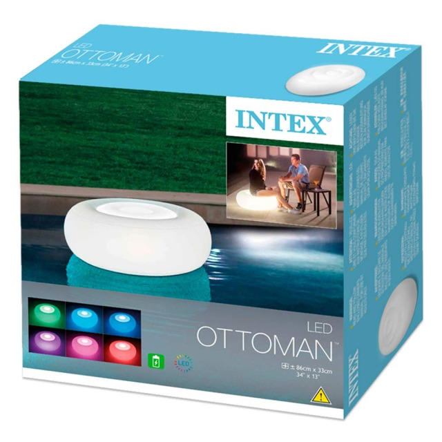 Obrázek produktu Intex 68697 LED světlo Ottoman