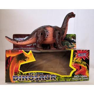 Obrázek 1 produktu Dinosaurus Brontosaurus 21 cm, světlo, zvuk, hnědý