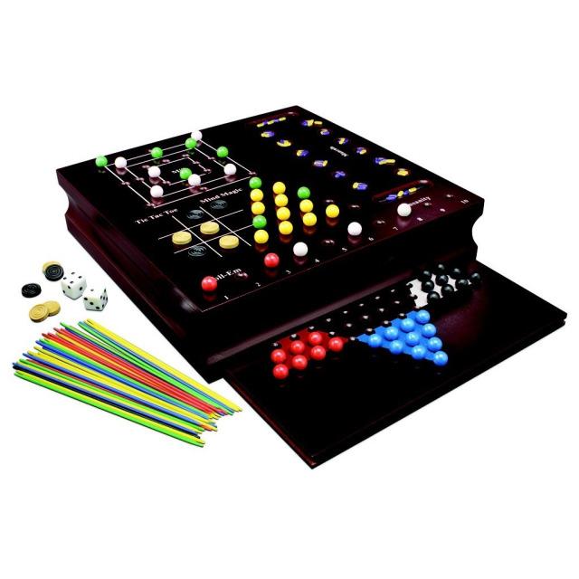 Obrázek produktu Spin Master 10 klasických spol. her v dřevěné krabici