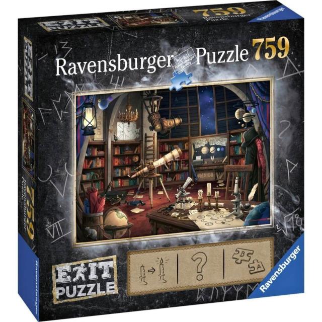 Obrázek produktu Ravensburger 19950 Exit Puzzle: Hvězdárna 759 dílků