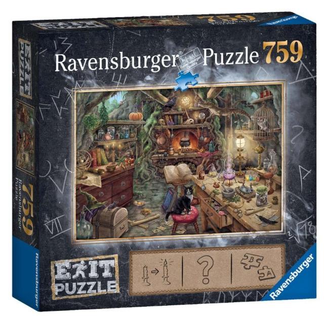 Obrázek produktu Ravensburger 19952 Exit Puzzle: Kouzelnická kuchyně 759 dílků