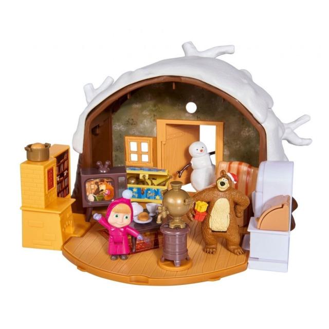 Obrázek produktu Máša a medvěd Zimní dům medvěda, Simba