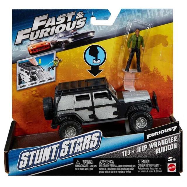 Obrázek produktu Rychle a zběsile - Auto s figurkou Tej, Mattel FCG31