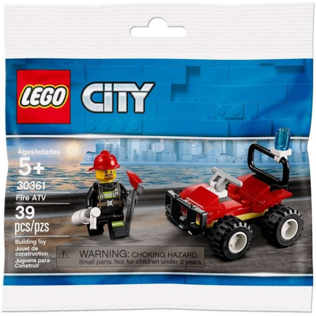 Obrázek produktu LEGO CITY 30361 Hasičská čtyřkolka