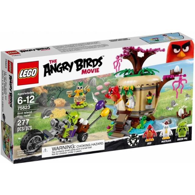 Obrázek produktu LEGO Angry Birds 75823 Krádež vajíček na ptačím ostrově