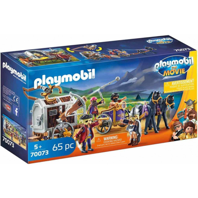 Obrázek produktu Playmobil 70073 THE MOVIE Charlie s vězeňským vozem