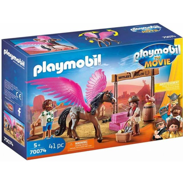 Obrázek produktu Playmobil 70074 THE MOVIE Marla, Del a kůň s křídly