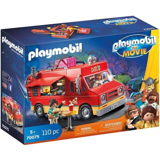 Obrázek produktu Playmobil 70075 THE MOVIE Delův Food Truck