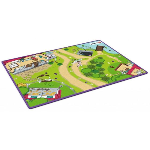 Obrázek produktu Schleich 42465 Horse Club Hrací koberec 133 x 92 cm