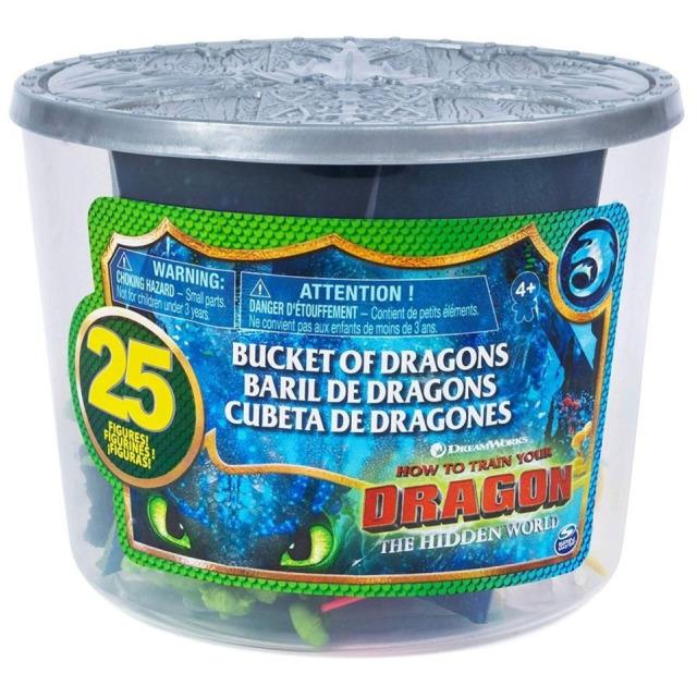 Obrázek produktu Draci 3 Kyblík plný draků