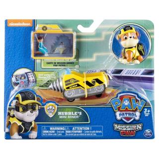 Obrázek 1 produktu Tlapková patrola Mise Rubble a důlní mini vozidlo