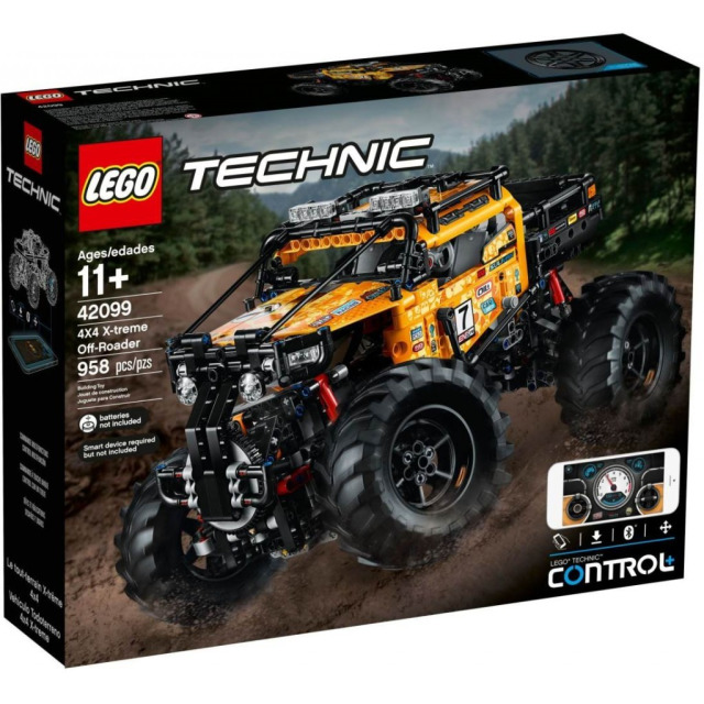 Obrázek produktu LEGO TECHNIC 42099 RC Extrémní teréňák 4x4