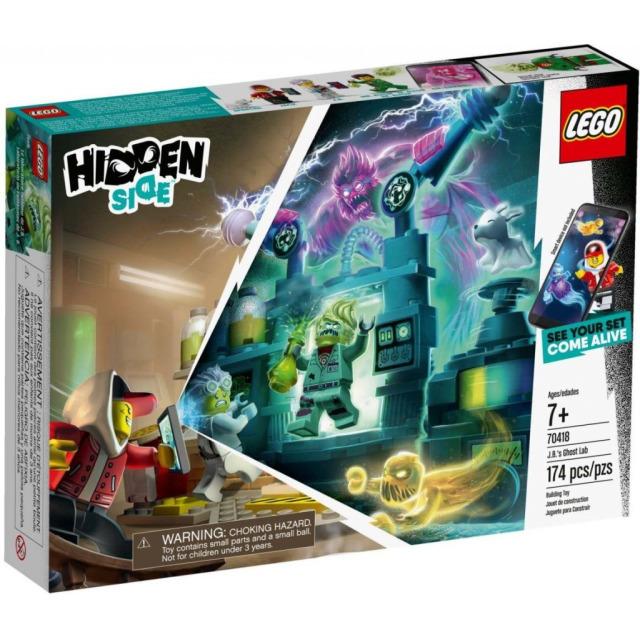 Obrázek produktu LEGO Hidden Side 70418 J. B. a jeho laboratoř plná duchů
