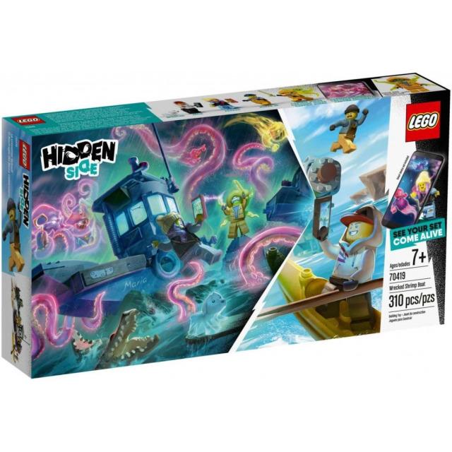 Obrázek produktu LEGO Hidden Side 70419 Stará rybářska bárka