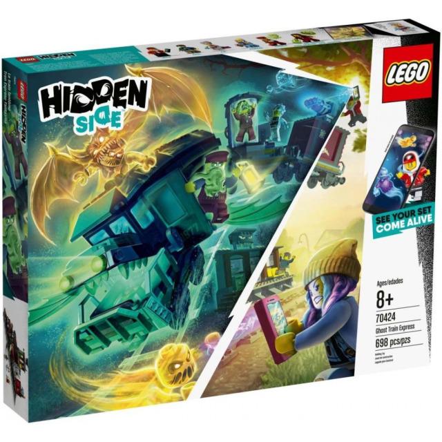 Obrázek produktu LEGO Hidden Side 70424 Vlak duchů