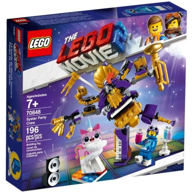 Obrázek produktu LEGO Movie 70848 Párty parta ze Sestrálního systému