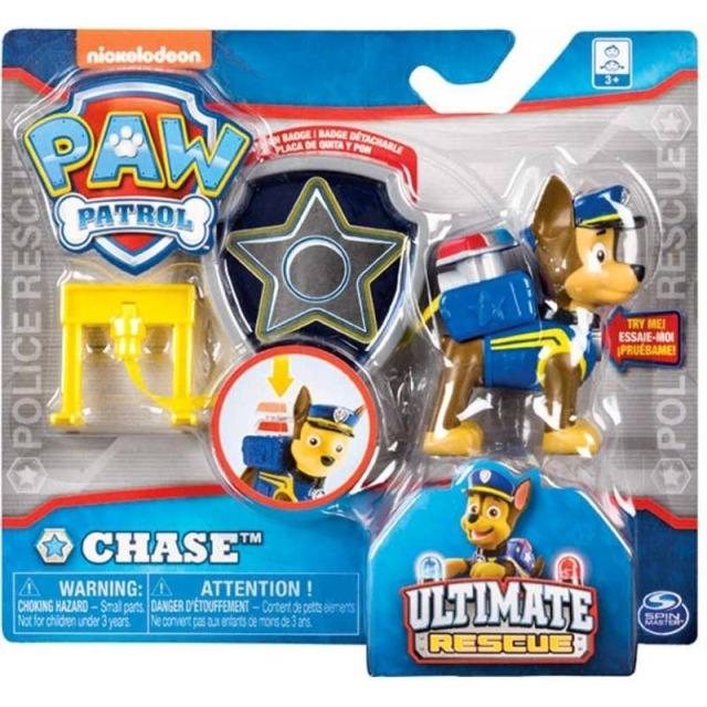 Obrázek produktu Tlapková patrola funkční figurka s odznakem Chase
