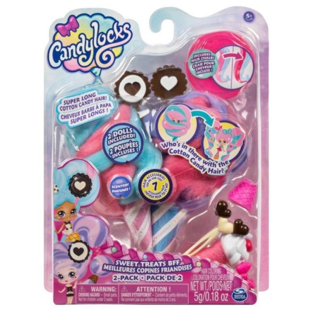 Obrázek produktu CANDYLOCKS Cukrové panenky s vůní čokoláda