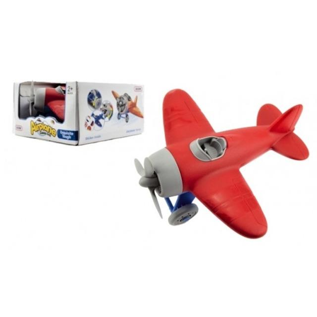 Obrázek produktu Letadlo 20cm modročervené
