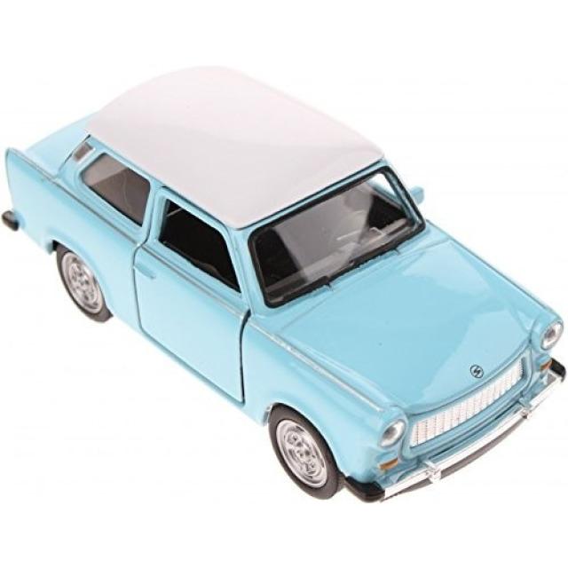 Obrázek produktu Kovový model 1:60 Trabant modrý
