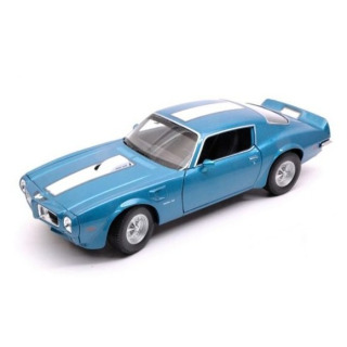 Obrázek 1 produktu Kovový model 12cm Pontiac Firebird Trans Am 1972 modrý