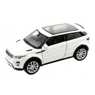 Obrázek 1 produktu Kovový model 1:34 Range Rover Evoque bílý