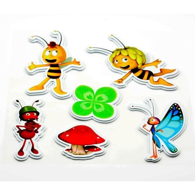 Obrázek produktu Pěnové dekorace na zeď Včelka Mája čtyřlístek