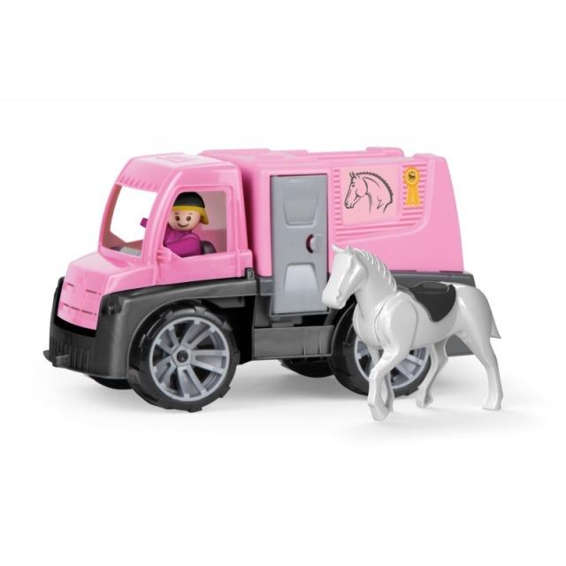 Obrázek produktu Truxx Auto Přeprava koní + figurky 26 cm v krabici