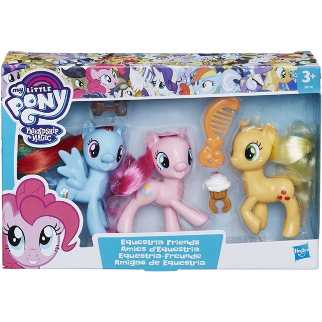 Obrázek produktu MLP My Little Pony Sada 3 poníků, Hasbro E0170