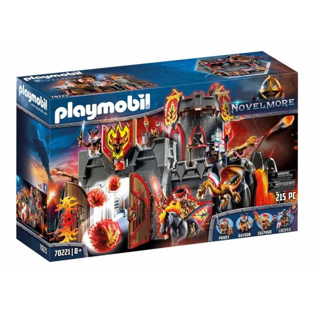 Obrázek produktu Playmobil 70221 Burnhamská Dračí pevnost NOVELMORE