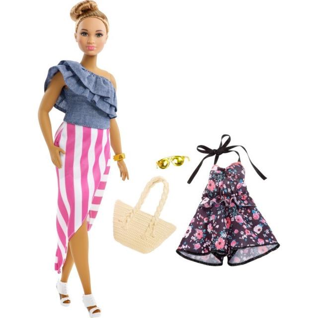 Obrázek produktu Barbie Modelka 102 s oblečky a doplňky, Mattel FRY82
