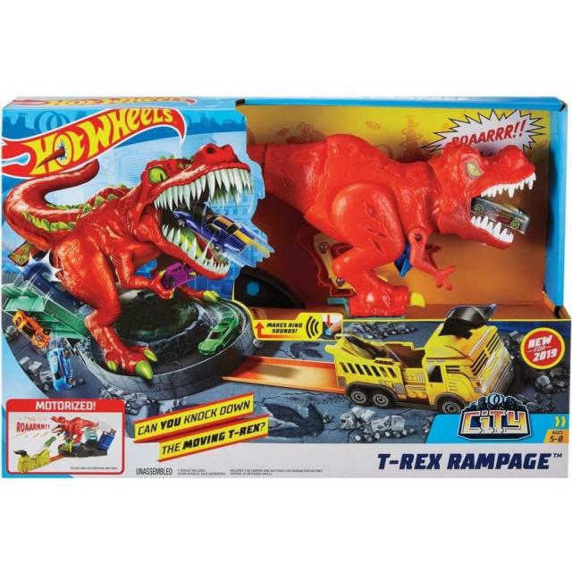 Obrázek produktu Hot Wheels City T-Rex řádí, Mattel GFH88