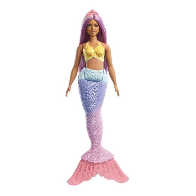 Obrázek produktu Barbie Dreamtopia Mořská víla fialové vlasy, Mattel FXT09