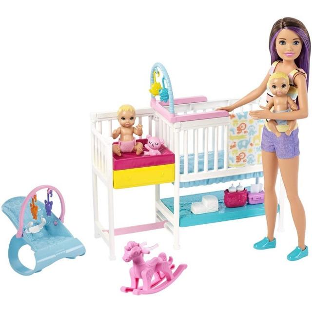 Obrázek produktu Mattel Barbie Dětský pokojík herní set, GFL38