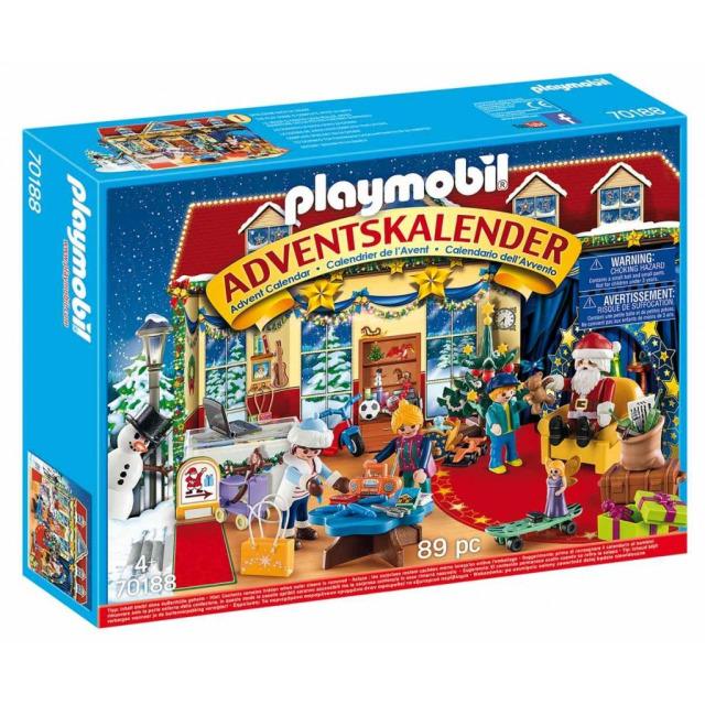 Obrázek produktu Playmobil 70188 Adventní kalendář Vánoce v hračkářství