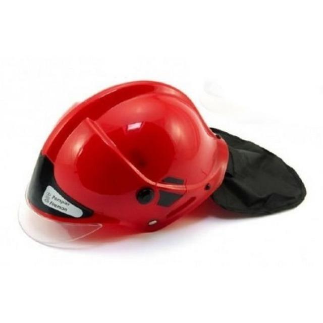 Obrázek produktu Hasičská helma 27 x 16 cm červená