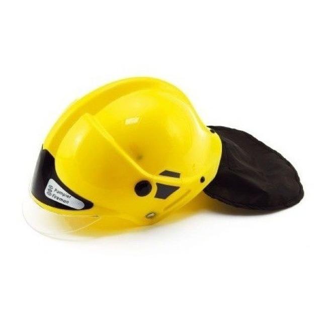Obrázek produktu Hasičská helma 27 x 16 cm žlutá