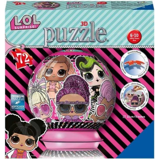 Obrázek produktu Puzzleball L.O.L. 72d. Ravensburger