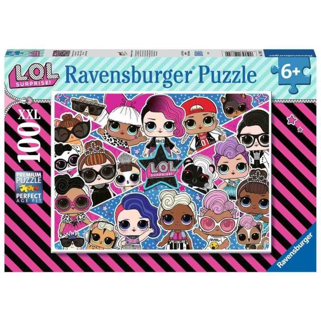 Obrázek produktu Ravensburger 12882 Puzzle L.O.L. 100d. XXL