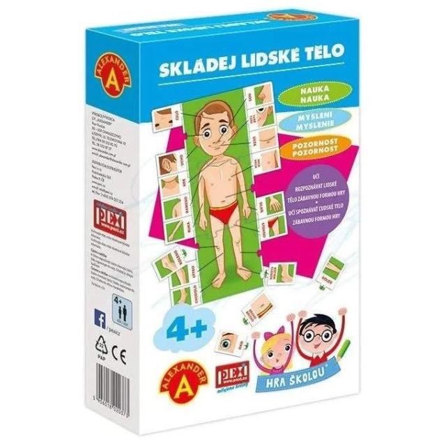 Obrázek produktu Hra školou Skládej lidské tělo