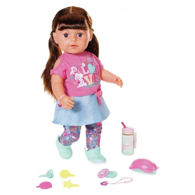 Obrázek produktu BABY born® Starší sestřička Soft Touch brunetka, 43 cm
