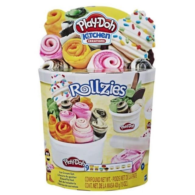 Obrázek produktu Play Doh Set rolované zmrzliny, Hasbro E8055