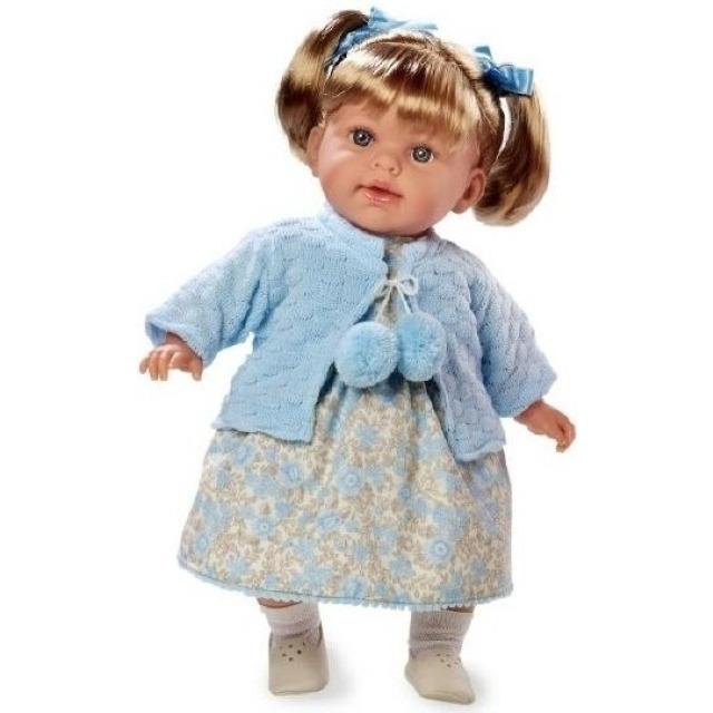 Obrázek produktu Panenka Arias vonící 42cm modré šaty smějící se