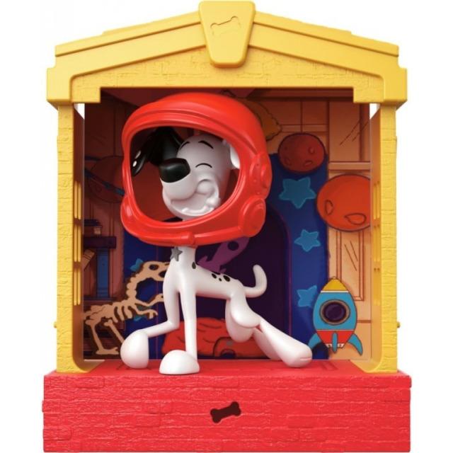 Obrázek produktu 101 Dalmatinů, figurka v domečku Dylan, Mattel GBM27