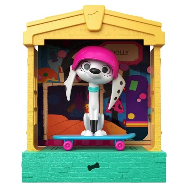 Obrázek produktu 101 Dalmatinů, figurka v domečku Dolly, Mattel GBM28