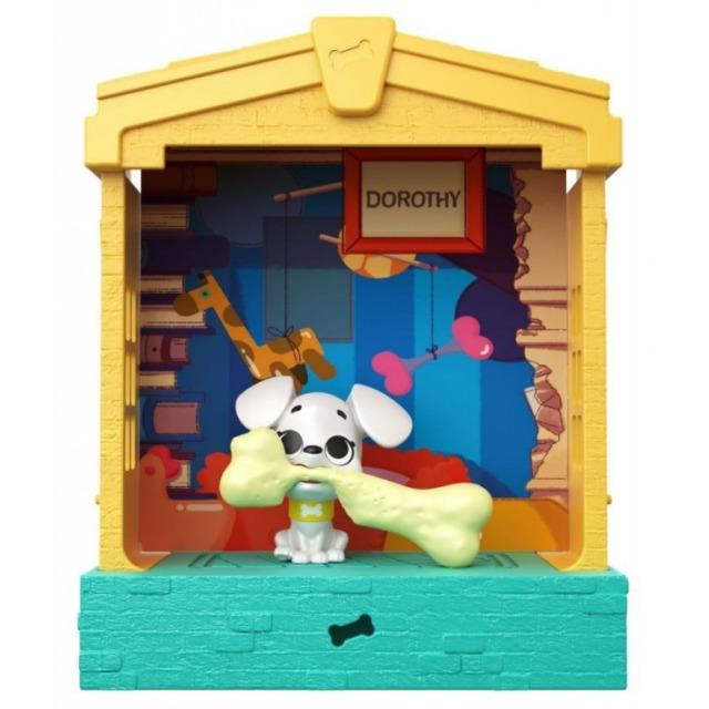 Obrázek produktu 101 Dalmatinů, figurka v domečku Dorothy, Mattel GBM30