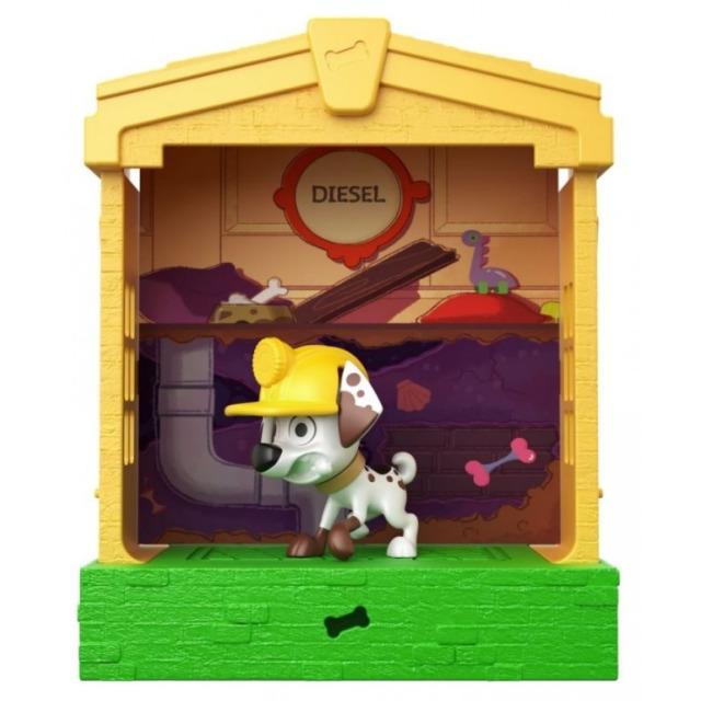 Obrázek produktu 101 Dalmatinů, figurka v domečku Diesel, Mattel GBM31